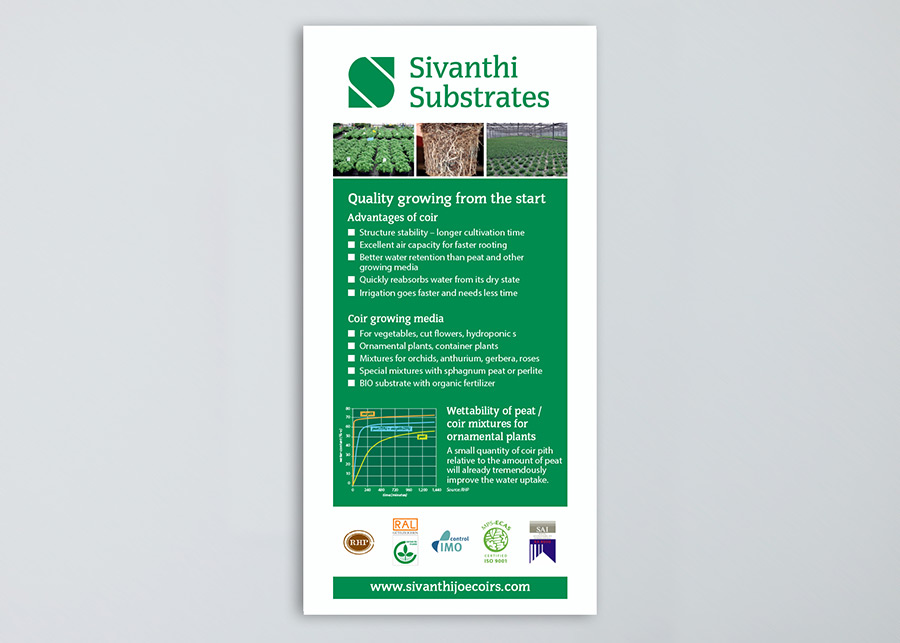 Sivanthi Joe Coirs - Corporate Design, Print, Roll-Up