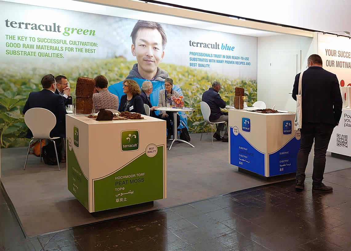 Terracult International GmbH - Corporate Design, Print, Messestand