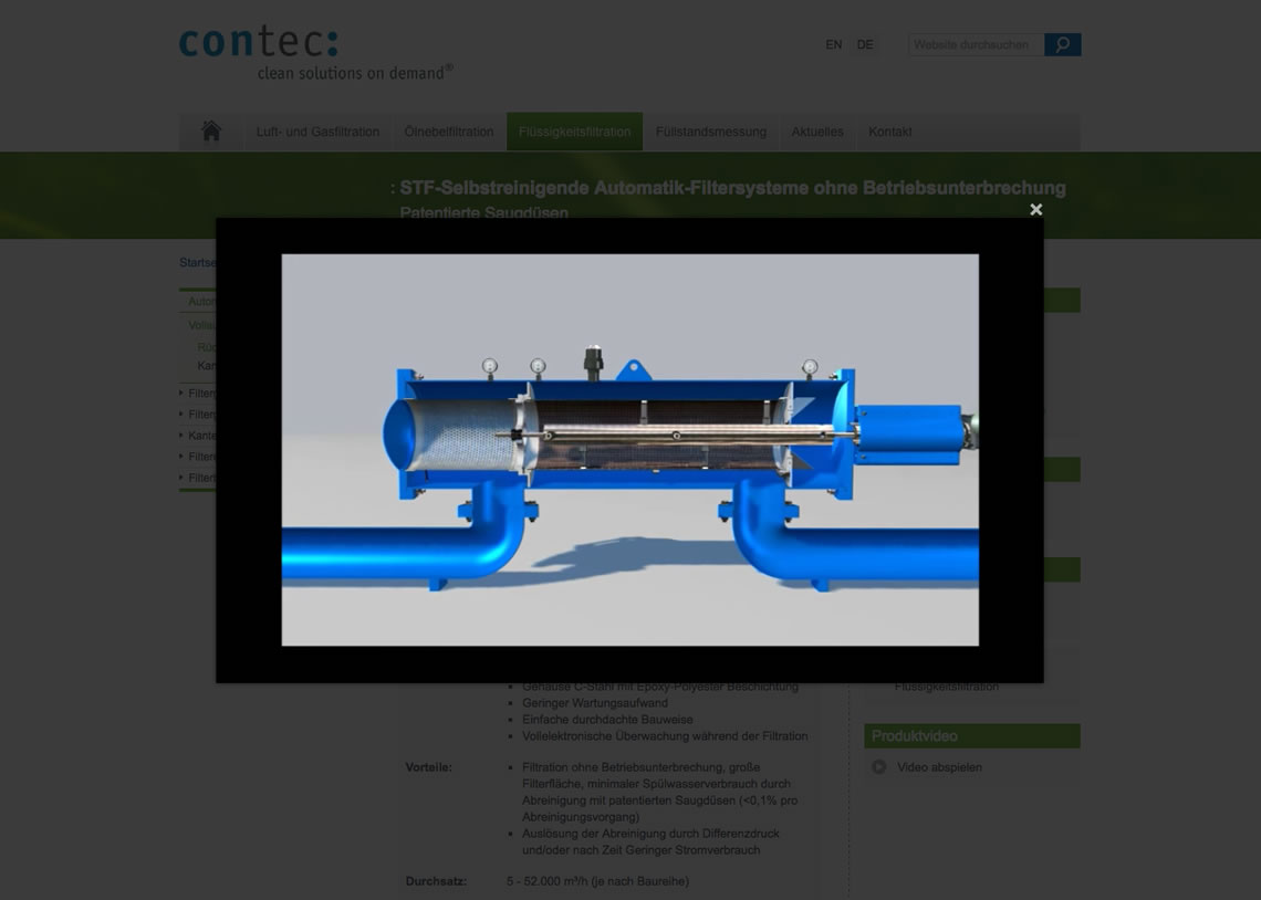 Contec GmbH - Responsive Webdesign, CMS Drupal, SEO Suchmaschinenoptimierung