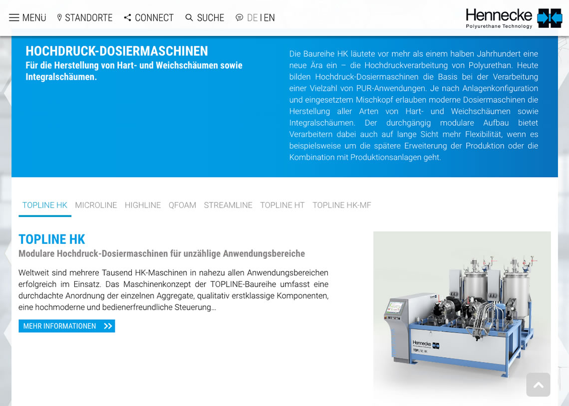 Hennecke Group - Responsive Webdesign, CMS Drupal, SEO Suchmaschinenoptimierung, jQuery Accordion